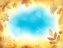 Leaves theme background 1 Royalty Free Stock Photos