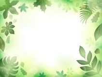 Leaves theme background 2 Royalty Free Stock Image