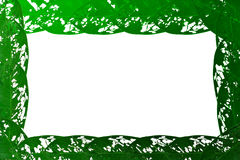 Leaves. Torn leaves green background and empty space for text Stock Images