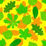 Seamless autumn background Royalty Free Stock Image