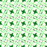 Leaves vector seamless abstract color pattern background Stock Photo