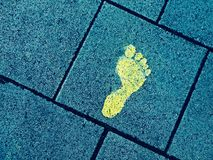 Leaving Footprints Royalty Free Stock Photo