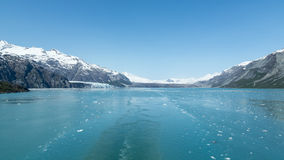 Leaving Glacier Bay Royalty Free Stock Photography