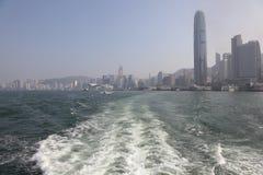 Leaving Hong Kong Royalty Free Stock Image