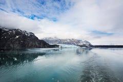 Leaving Margerie Glacier Stock Photo