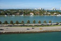 Leaving Miami, Florida Royalty Free Stock Photography