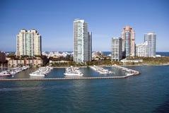 Leaving Miami, Florida Stock Image