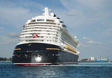 Leaving Nassau Harbour Stock Images