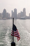 Leaving San Diego Dock Stock Image