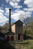 Leawood Pumphouse. In the Derwent Valley, Derbyshire, England Stock Image