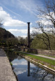 Leawood Pumphouse. In the Derwent Valley, Derbyshire, England Royalty Free Stock Photos