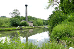 Leawood Pumping Station. Royalty Free Stock Photo