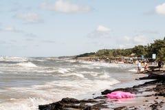 Leba da praia Imagem de Stock