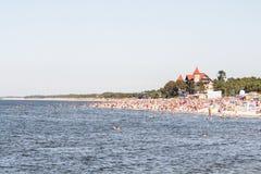 Leba de la playa Foto de archivo