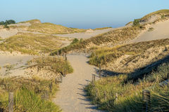 Leba dunes, Famous place in Poland. Royalty Free Stock Image