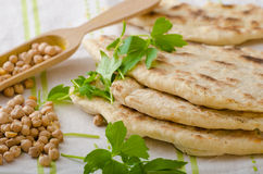 Lebanese bread, pita bread Stock Photography