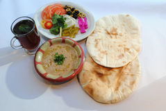 Lebanese breakfast Royalty Free Stock Image