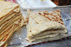 Lebanese cuisine Stock Images