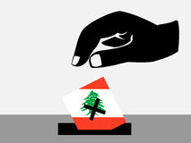 Lebanese election Stock Photo