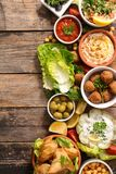 Lebanese food royalty free stock images