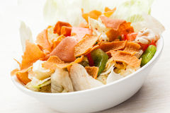 Lebanese food: Fattouch salad Royalty Free Stock Image