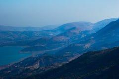 Lebanese landscape, Bekaa Valley Beqaa (Bekaa) Valley, Baalbeck, Lebanon Stock Image