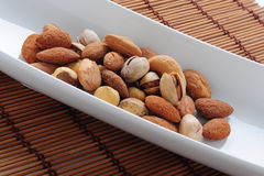 Lebanese nuts close up Royalty Free Stock Photos