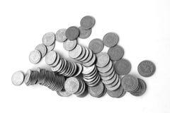 Lebanese One Livre Coins Stock Image