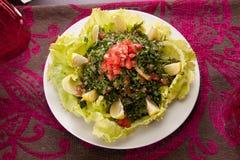 Lebanese oriental salad Royalty Free Stock Image