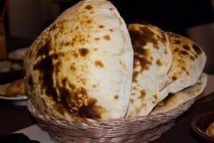 Lebanese pita bread Royalty Free Stock Image