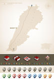 Lebanese Republic Royalty Free Stock Photography