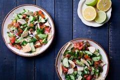 Lebanese Salad Fattoush Royalty Free Stock Images