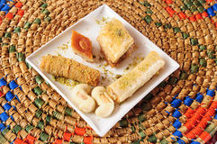 Lebanese sweets Royalty Free Stock Images