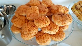 Lebanese sweets. Lebanese cuisine. Sidon, Lebanon. June, 2019 royalty free stock photos