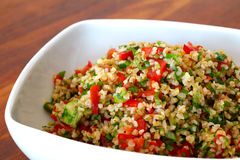 Lebanese Tabbouleh in a bowl Stock Photos