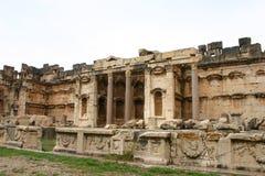 Lebanon. Ruins of baalbek Stock Image