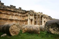 Lebanon. Baalbek ruins Royalty Free Stock Image