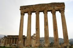 Lebanon. Ruins of baalbek Royalty Free Stock Photos
