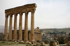 Lebanon. Ruins of baalbek Stock Images