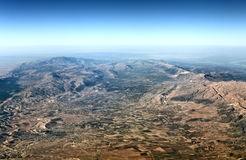 Lebanon aerial view Royalty Free Stock Images