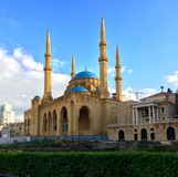 Lebanon, Beirut, The Mohammad Al-Amin Mosque Stock Image