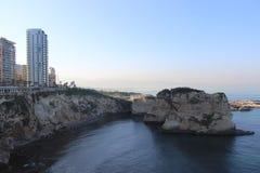 Lebanon beirut. Ramlet el bayda beirut summer Royalty Free Stock Images