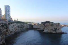 Lebanon beirut. Ramlet el bayda beirut summer Stock Photos