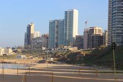 Lebanon beirut. Ramlet el bayda beirut summer Stock Image