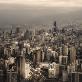 Lebanon cityscape Stock Photography