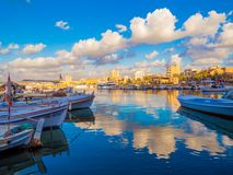 lebanon däck Arkivbilder