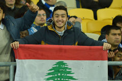 Lebanon fan Royalty Free Stock Photos