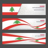 Lebanon independence day abstract background design banner and f. Lyer, postcard, landscape, celebration vector illustration - This Vector EPS 10 illustration is stock illustration