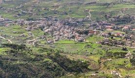 Lebanon Mountai View (HDR) Royalty Free Stock Images