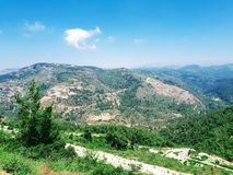 Lebanon Mountain View stock photos
